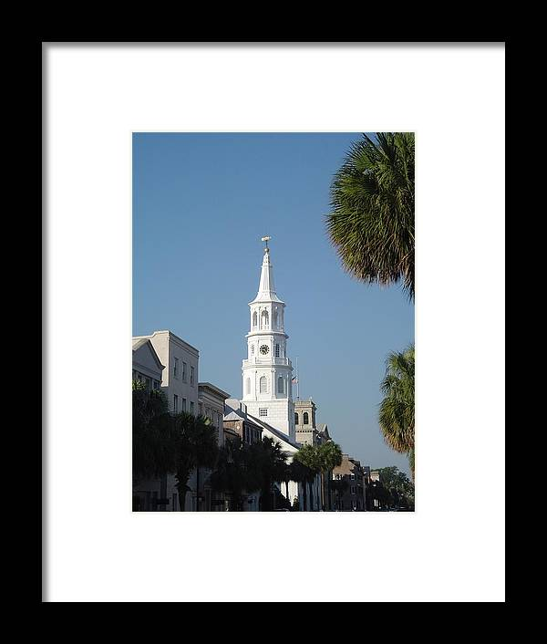Church Framed Print featuring the photograph Shining Beacon by Richard Marcus