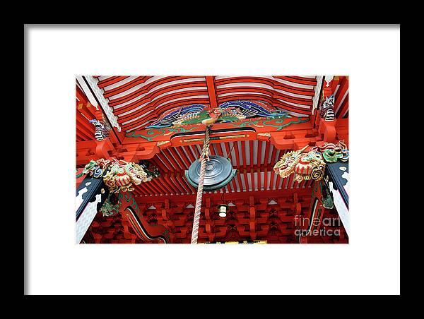 Shrine Framed Print featuring the photograph Shinto Shrine by Eena Bo