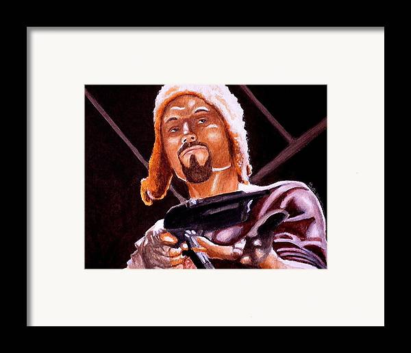 Firefly Framed Print featuring the painting Shiny Lets Be Bad Guys by Al Molina