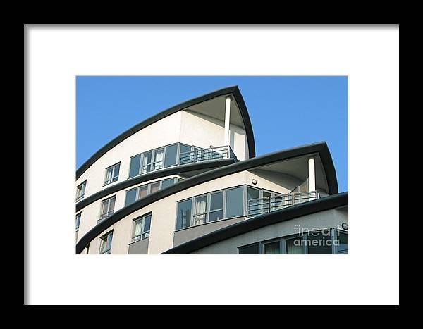 Condo Framed Print featuring the photograph Ship-shape by Ann Horn