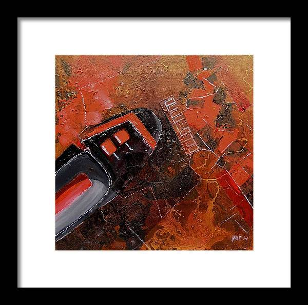Shoe Framed Print featuring the painting Shoe Transformation by Evguenia Men