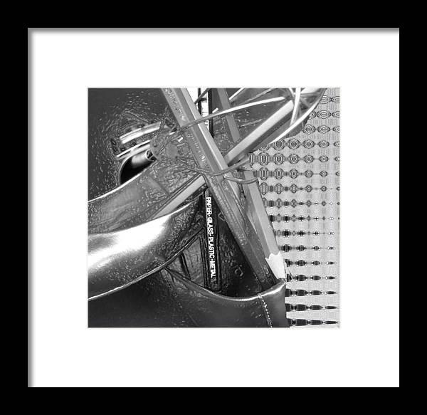 Shoes Framed Print featuring the photograph Shoes In A Plastyic Wrap by Evguenia Men