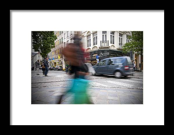 Shopping Framed Print featuring the photograph Shop by Krista Corcoran Photography