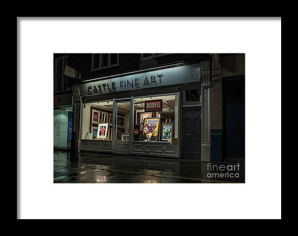 Covent Garden Framed Print featuring the photograph Shop Window In Covent Garden by Philip Pound
