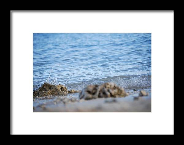 Shore Framed Print featuring the photograph Shore View by Lakida Mcnair