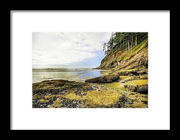 Short Sands Beach Framed Print featuring the photograph Short Sands Beach, Oregon by Kay Brewer