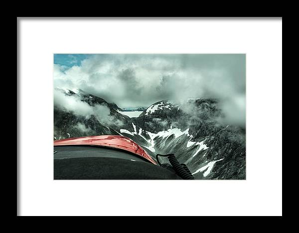 Alaska Framed Print featuring the photograph Shot Gun by Stephanie Wolden