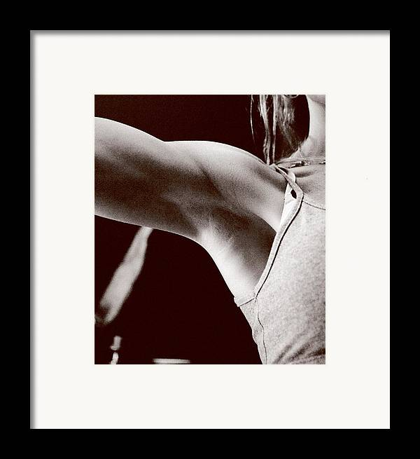 Erotica Framed Print featuring the photograph Shoulder by John Toxey