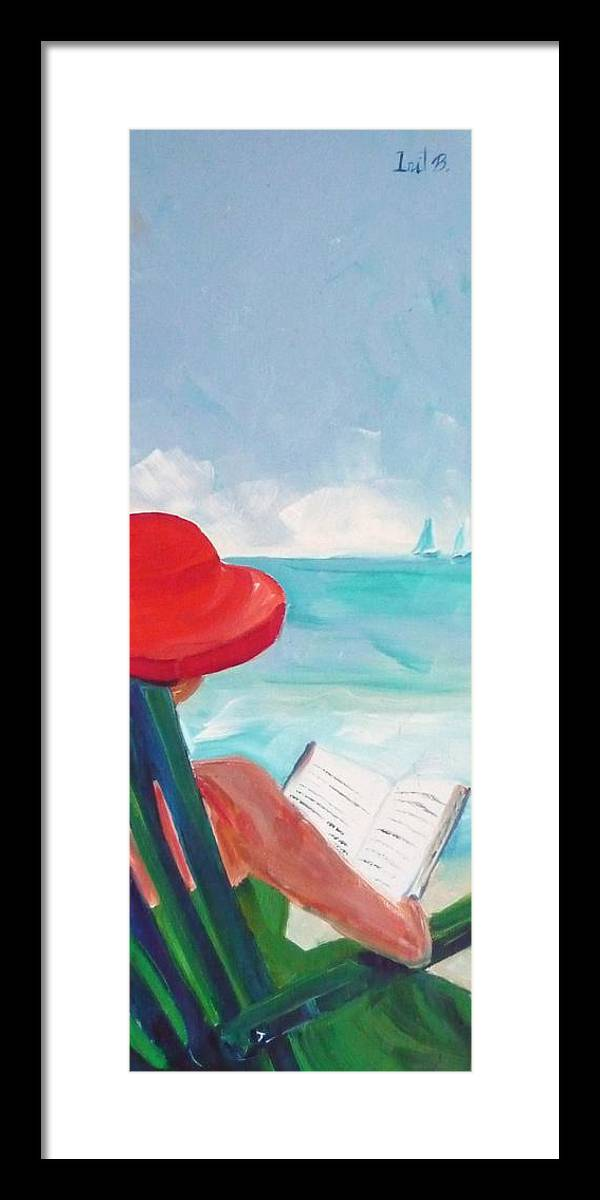 Figurative Framed Print featuring the painting Show Some Skin by Irit Bourla