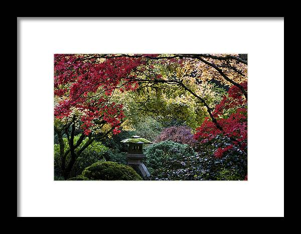 Shrine In Watercolors Framed Print featuring the photograph Shrine In Watercolors by Wes and Dotty Weber