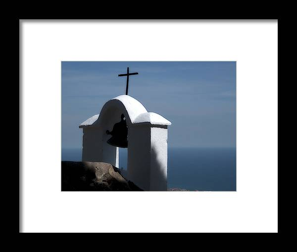 Shrine Framed Print featuring the photograph Shrine Of Calvario by Obi Martinez
