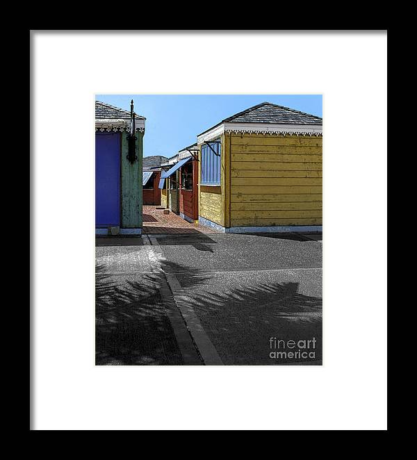 Shutters Framed Print featuring the photograph Shutters II by Katherine Morgan