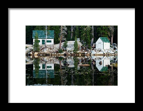 Pond Framed Print featuring the photograph Sierra Serenity by S Lynn Lehman
