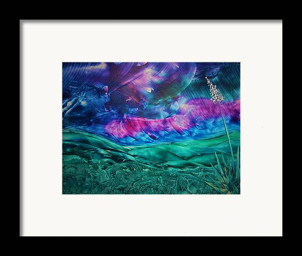 Desert Framed Print featuring the print Sierra Vista by Melinda Etzold