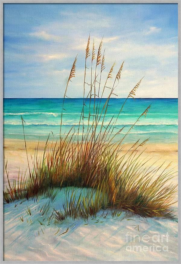 Siesta Key Beach Dunes  by Gabriela Valencia