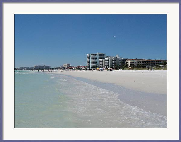 Siesta Key Beach, Florida  by Jeanette Rode Dybdahl