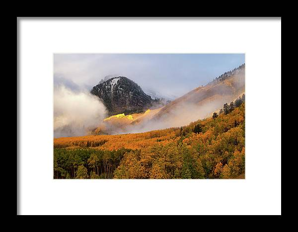 Colorado Framed Print featuring the photograph Siever's Mountain by Steve Stuller