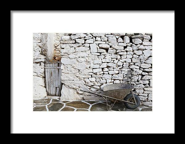 Sikinos Framed Print featuring the photograph sikinos 'VI by Milan Gonda