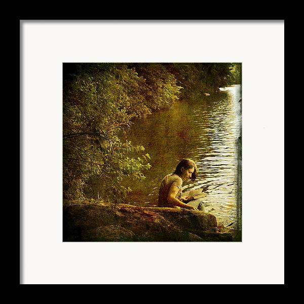 Silence Framed Print featuring the photograph Silence by Inesa Kayuta