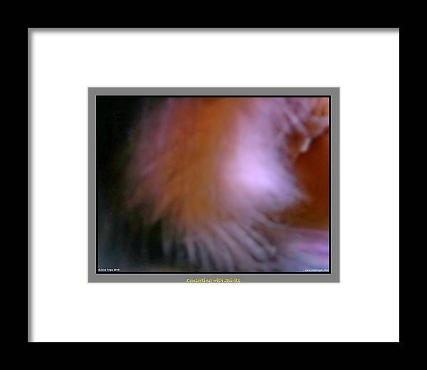 Ghost Framed Print featuring the photograph Silent Angel by Jane Tripp