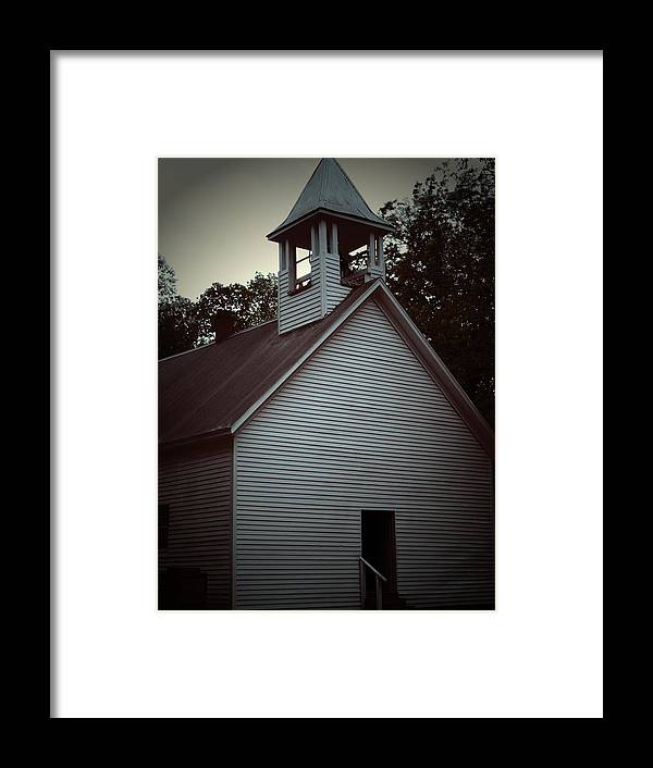 Church Framed Print featuring the photograph Silent Faith by Jessica Burgett