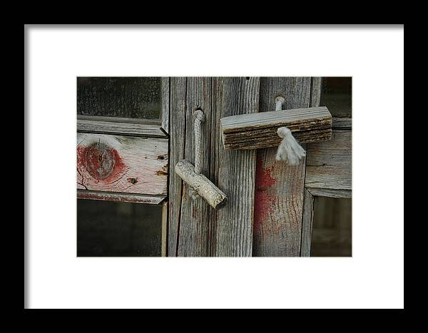 Abstract Framed Print featuring the photograph Silent Memory by Lori Mellen-Pagliaro