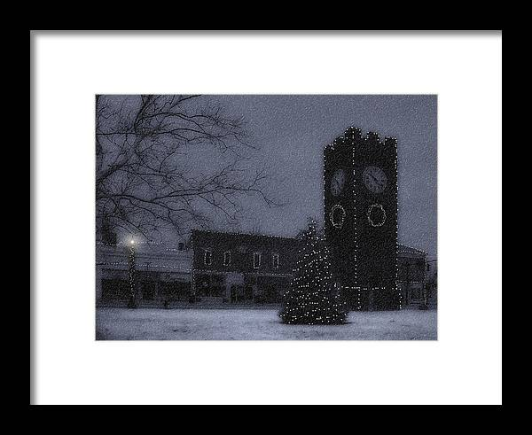 Night Framed Print featuring the photograph Silent Night by Kenneth Krolikowski