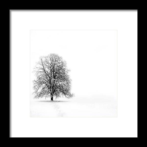 Landscape Framed Print featuring the photograph Silenzio by Jacky Gerritsen