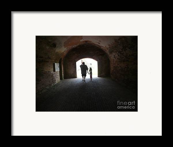 Framed Print featuring the photograph Silhouettes by Barb Montanye Meseroll