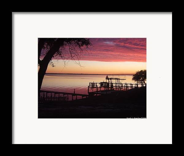 Silhouette Framed Print featuring the photograph Silhouettes by Nicole I Hamilton