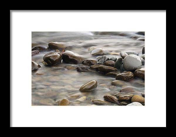 River Framed Print featuring the photograph Silk River by Chad Davis