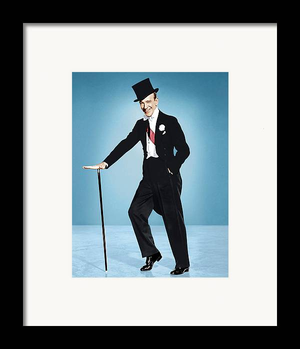 1950s Portraits Framed Print featuring the photograph Silk Stockings, Fred Astaire, 1957 by Everett