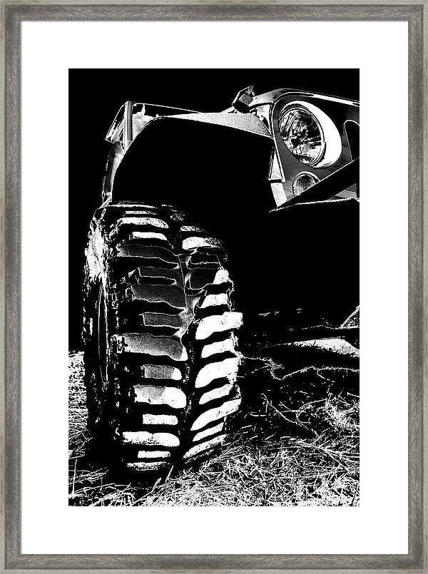 silver and black jk mud bogger framed print by luke moore Jeep Logo Wallpaper jeep framed print featuring the photograph silver and black jk mud bogger by luke moore