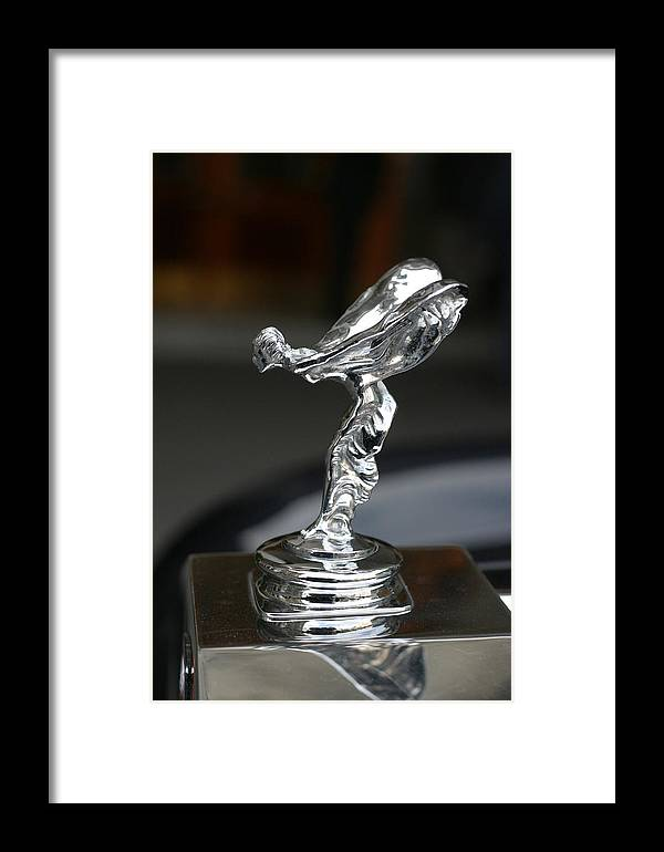 Flying Framed Print featuring the photograph Silver Woman In Flight by Carl Purcell