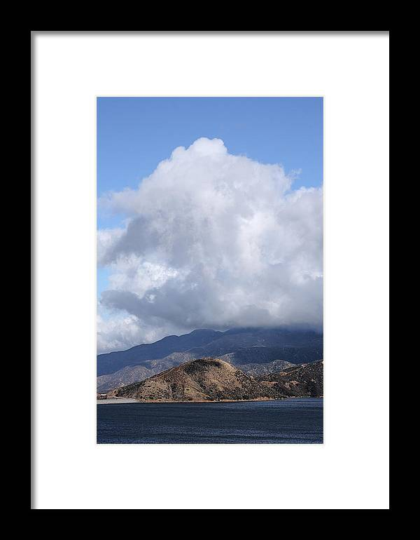 Silverwood Framed Print featuring the photograph Silverwood Lake by Viktor Savchenko