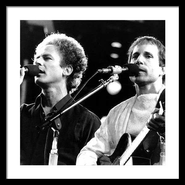 Simon and Garfunkel 1982 by Chris Walter
