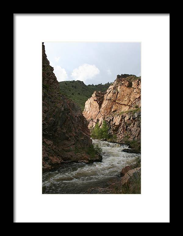 Landscape Framed Print featuring the photograph Simple Beauty by Cassandra Wessels