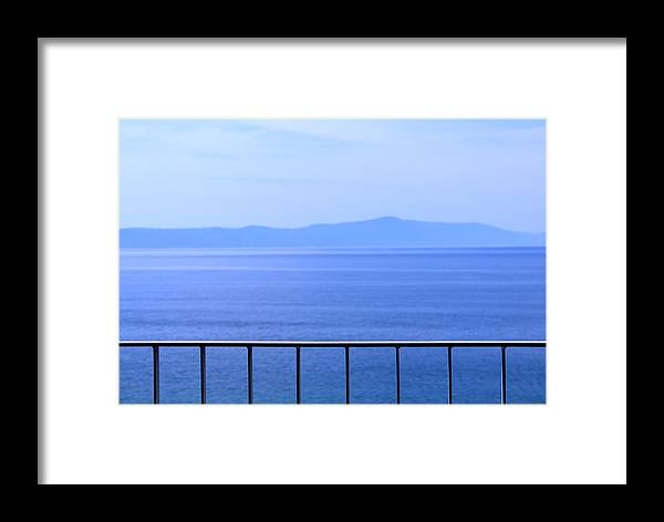 Summer Framed Print featuring the photograph Simple Landscape by Inna Samoilova