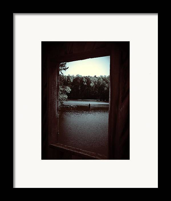 Lake Framed Print featuring the photograph Simple Times by Jessica Burgett