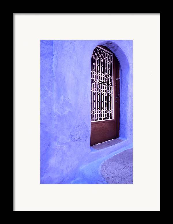 Greece Framed Print featuring the photograph Simply Blue by Steve Outram
