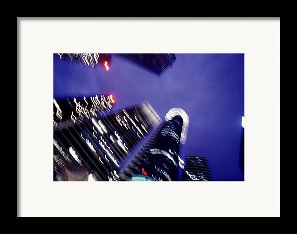 Skyline Framed Print featuring the photograph Singapore Office Towers by Brad Rickerby