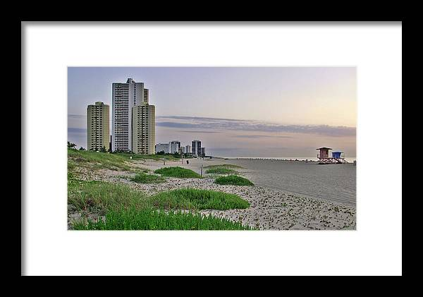 Singer Island Framed Print featuring the photograph Singer Island Florida Beach by Bruce Roker