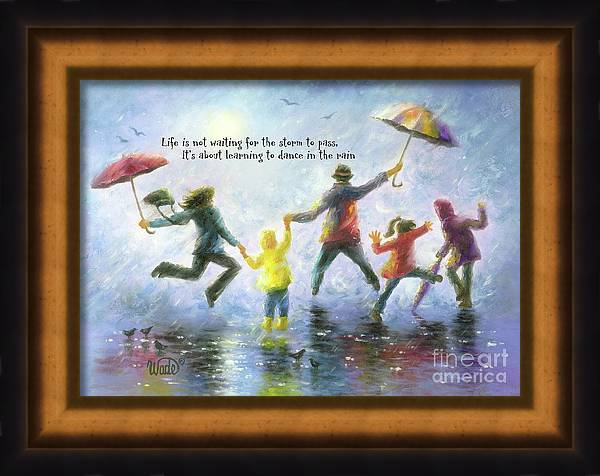 Singing in the Rain Family by Vickie Wade