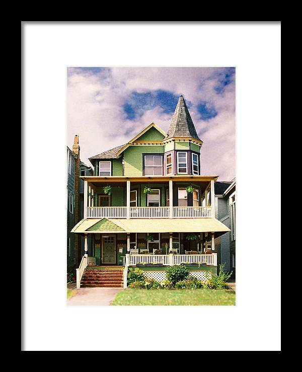Archtiecture Framed Print featuring the photograph Sisters Panel 1 Of Triptych by Steve Karol