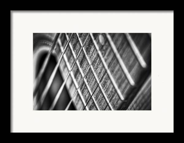 Guitar Framed Print featuring the photograph Six Strings by Scott Norris