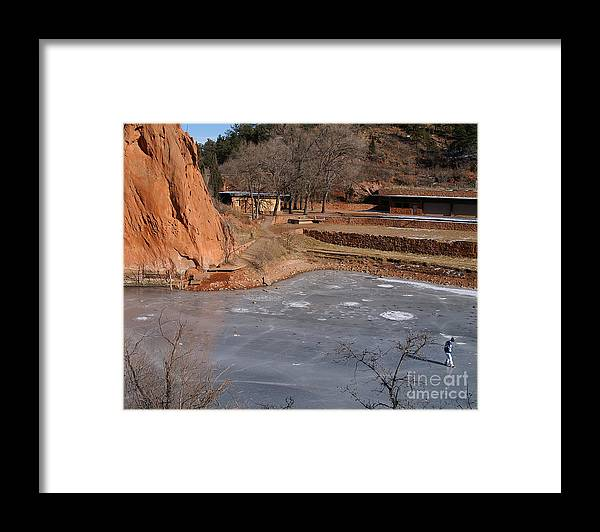 Colorado Framed Print featuring the photograph Skating on Thick Ice by Jack Norton