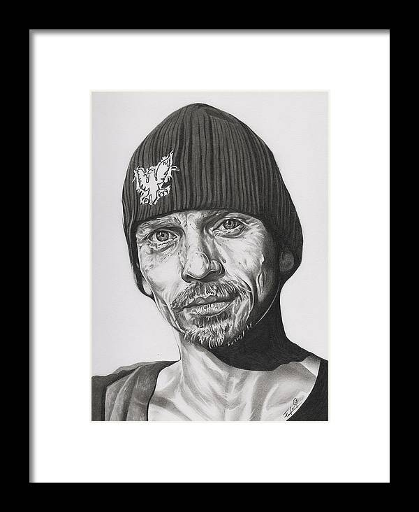Skinny Pete Breaking Bad Framed Print by Fred Larucci