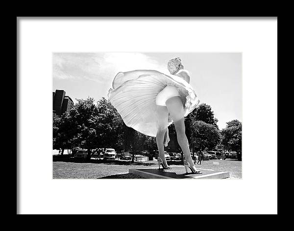 Skirt Swing Framed Print featuring the photograph Swing It by Diana Angstadt