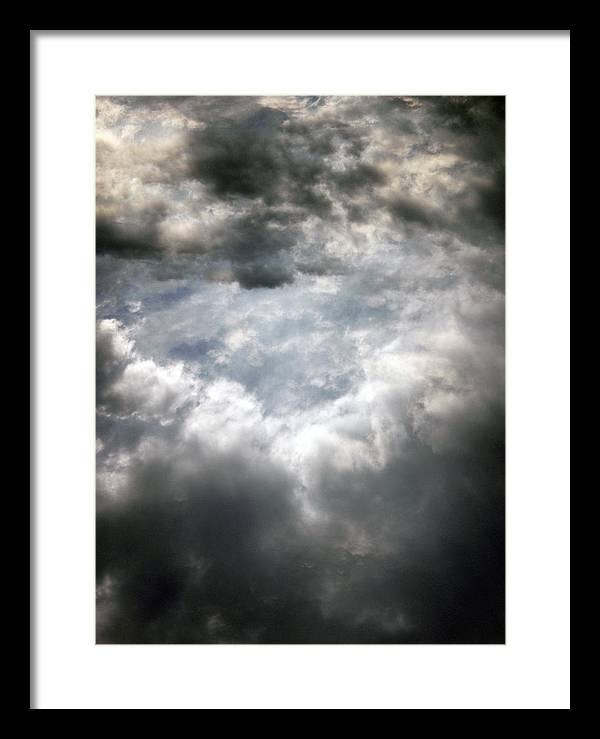 Sky Framed Print featuring the photograph Sky1 by Mikael Gambitt
