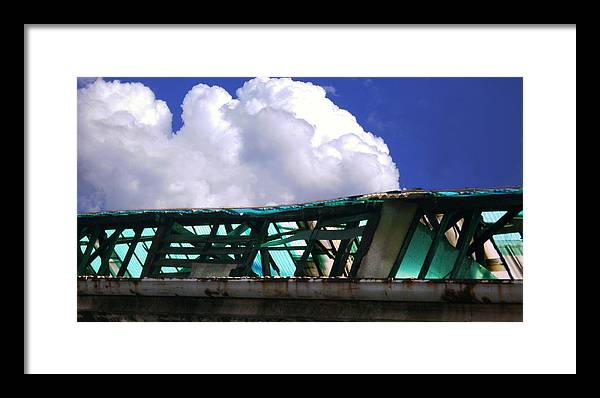 Cloud Framed Print featuring the photograph Sky10 by Mikael Gambitt